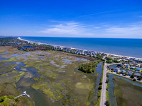 aerial of litchfield beach