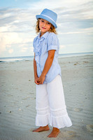 beautiful sunset portraits in pawleys island, sc
